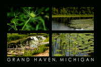 Green on the Bayou, Grand Haven Poster
