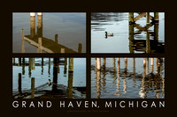 Under the Docks, Grand Haven Poster